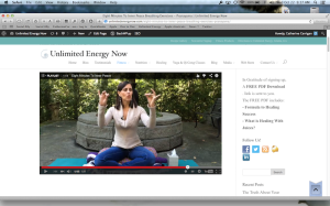 """Eight Minutes To Inner Peace, Introduction to Pranayama"""