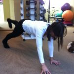 Plank With Alternating Arm And Leg Lifts
