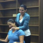 Shoulder Rolling In Thai Yoga Body Therapy