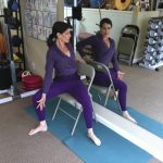 Seated Chair Twist Variation