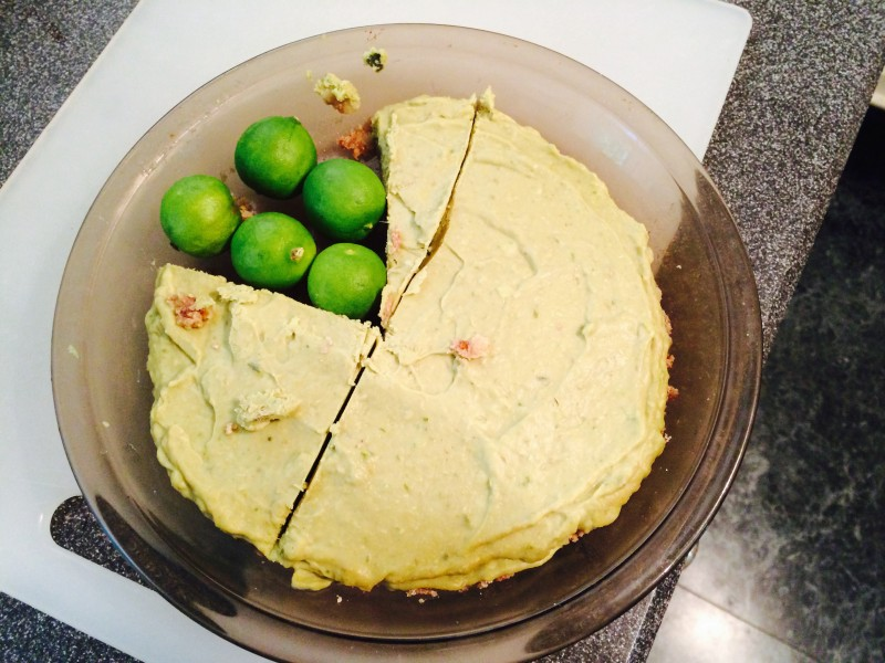 Raw Food Key Lime Pie