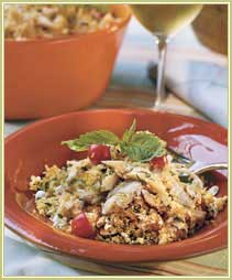 Minted Turkey Couscous
